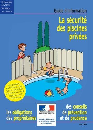 Guide d'information piscine - Port la Nouvelle