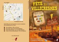Programme A4_2013 - Ville de Villecresnes
