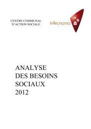 Téléchargez l'analyse 2012 des besoins sociaux à Villecresnes