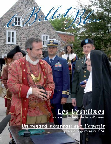 Les Ursulines - Le Billet Bleu - Collège Marie-de-l'Incarnation