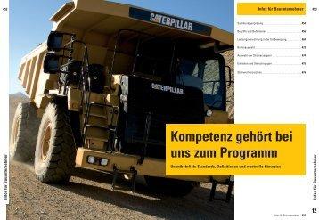 Infos für Bauunternehmer - Zeppelin Baumaschinen GmbH