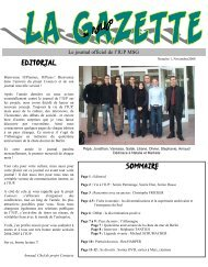 EDITORIAL SOMMAIRE