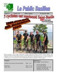 accéder au journal le Public Basilien du 26 septembre 2009