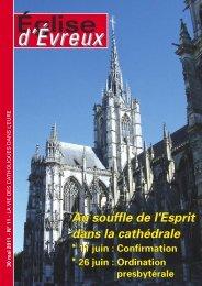 N° 11 - 30 mai 2011 - Diocèse d'Evreux