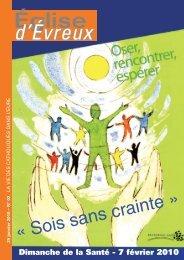 EE 01-2010.indd - Diocèse d'Evreux