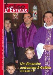 N° 12 - 14 juin 2011 - Diocèse d'Evreux