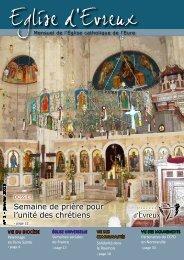 N° 1 - janvier 2013 - Diocèse d'Evreux