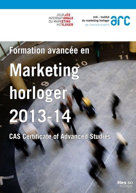 Brochure de présentation - Gestion - HE-Arc