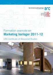 Marketing horloger 2011-12 - Journée Internationale du Marketing ...