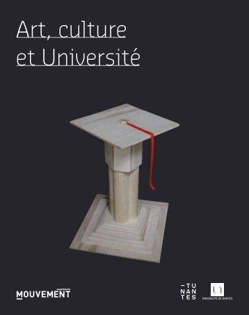 Art, culture et Université : je t'aime moi non plus - Mouvement