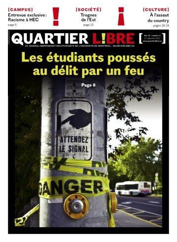 QUARTIER L!BRE - Quartier Libre