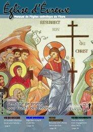 N° 1 - janvier 2012 - Diocèse d'Evreux - Eglise catholique en France