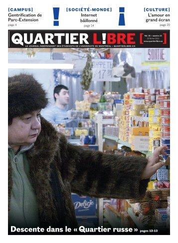 Quartier russe - Quartier Libre
