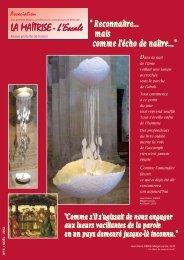 bulletin de noel 2012 - Les Maitrisiens