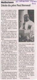 Paul RENAUD (1934-2013) - Les Maitrisiens