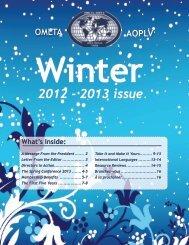 2012 - 2013 issue - Ontario Modern Language Teachers