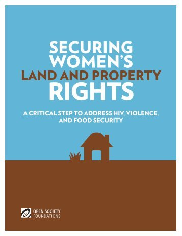 Securing-Womens-Land-Property-Rights-20140307