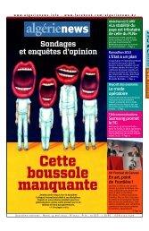 Fr-14-05-2013 - Algérie news quotidien national d'information