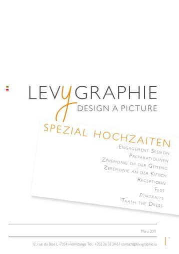 SPEZIAL HOCHZAITEN - Levygraphie