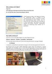 Wie archiviere ich E-Mails? - Ordensarchive Österreichs