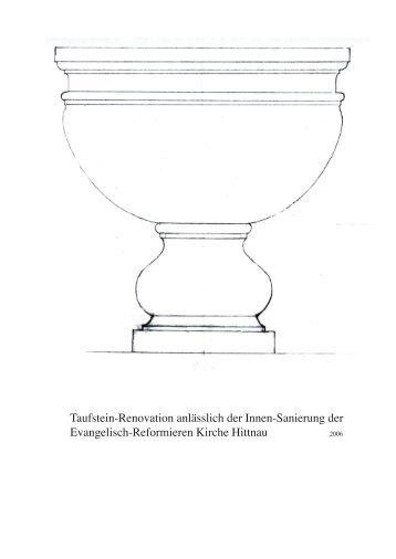 Taufstein Dokumentation Abschluss.pdf - Hansulrich Beer
