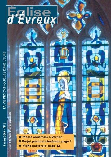 9 mars 2009 - Diocèse d'Evreux