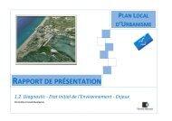 RAPPORT DE PRÉSENTATION - Port la Nouvelle