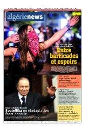 Fr-12-06-2013 - Algérie news quotidien national d'information
