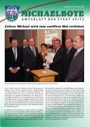 Michaelbote Februar 2010 - Stadt Zeitz