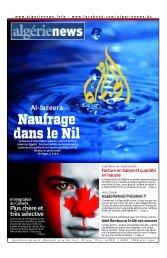 Fr-10-07-2013 - Algérie news quotidien national d'information