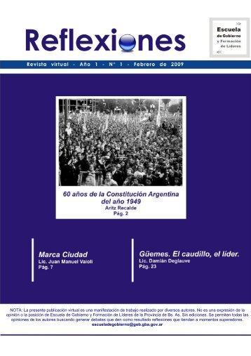 Revista virtual de Escuela de Gobierno y Formación de Líderes ...