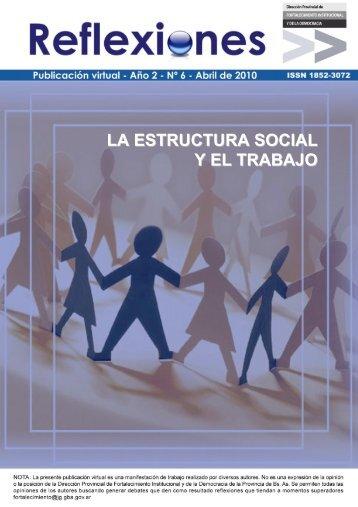 LA ESTRUCTURA SOCIAL Y EL TRABAJO - Ministerio de Jefatura ...