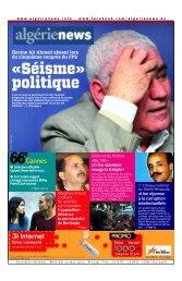 Fr-22-05-2013 - Algérie news quotidien national d'information