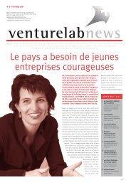 VL News Nr.6 (F) - venturelab