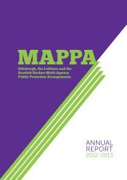 to download MAPPA Annual Report 2012-13 - Lothian & Borders ...