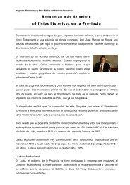 Programa Bicentenario y Obra Pública del Gobierno bonaerense