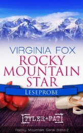 Rocky Mountain Star Leseprobe Kapitel 1