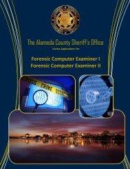 The Alameda County Sheriff's Office - JobAps