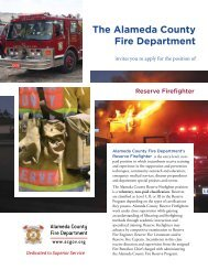 The Alameda County Fire Department - Alameda County Government