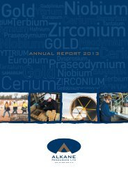 Annual Report to shareholders - Open Briefing