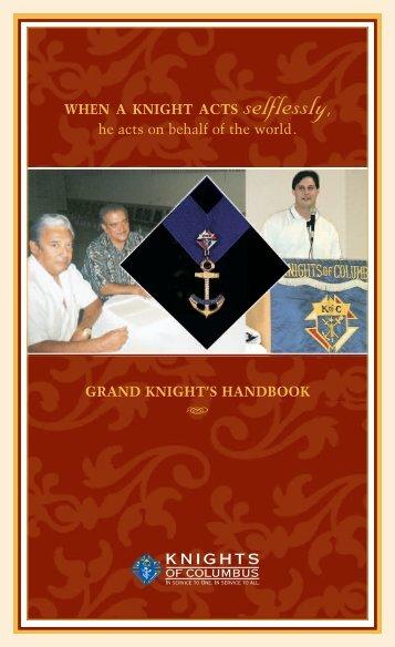 Grand Knight Handbook