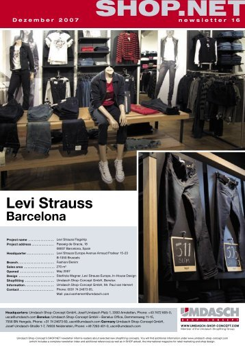 Levi Strauss - Umdasch Shopfitting