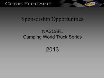 2013 Sponsorship