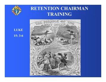 Retention Chairman Training (pdf)