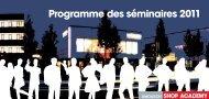 Seminarprogramm 2011 frz_print..indd - Umdasch Shopfitting