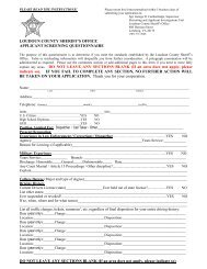 the APPLICANT SCREENING QUESTIONNAIRE. - JobAps