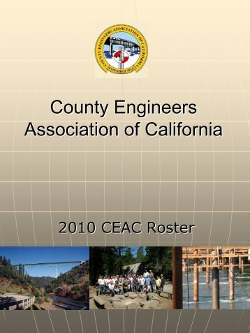 2010 - County Engineers Association of California