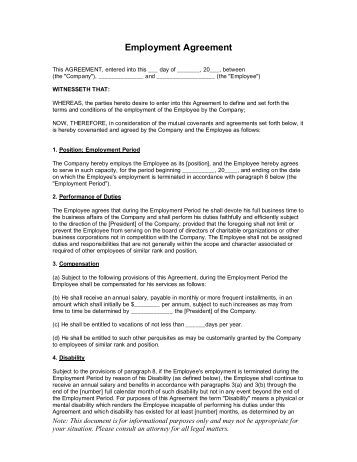Employment Release Agreement Severance Release Agreement Template