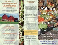to view the Farmers Market Brochure! - Putnam County Online