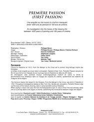 (FIRST PASSION) - Vivement Lundi